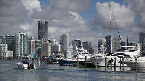 Cielo mayormente nublado y probabilidad de tormentas para este miércoles en Miami