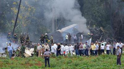 Ministerio de Transporte de Cuba confirma 110 fallecidos tras caída de avión que despegó de La Habana