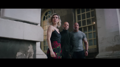 New action packed trailer to Hobbs & Shaw released