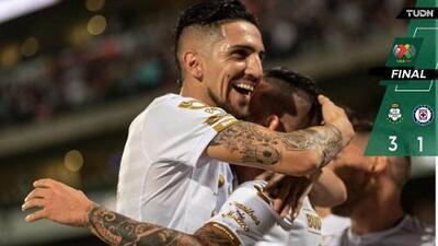 ¡Fracaso! Cruz Azul queda eliminado tras caer con Santos