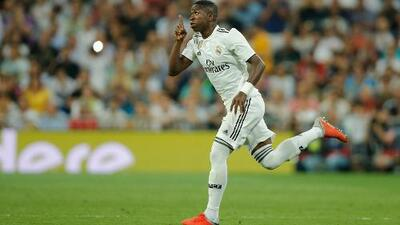 Vinícius Júnior podría estar en el 11 del Real Madrid en el Camp Nou