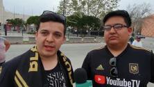 Afición de LAFC espera remontada y gran aporte de Vela