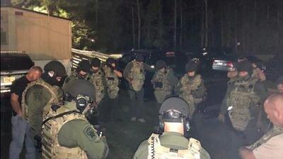 """17 personas detenidas durante """"Operación Carnívoro"""" en Carolina del Norte"""