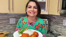 Donde comen 2 comen 3: receta de 'Tortitas de coliflor a la mexicana'