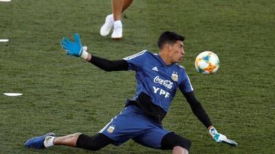 Andrada es baja para la Copa América y aumenta posibilidad para Agustín Marchesin
