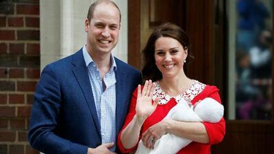 Celebración en Inglaterra por el nacimiento del tercer hijo del príncipe Guillermo y Kate Middleton