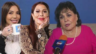 Carmen Salinas casi llora por el pleito entre Frida Sofía y Alejandra Guzmán (sabe lo que es perder a un hijo)