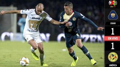 Pumas 1-1 América - RESUMEN Y GOLES – SEMIFINAL - Apertura 2018 Liga MX