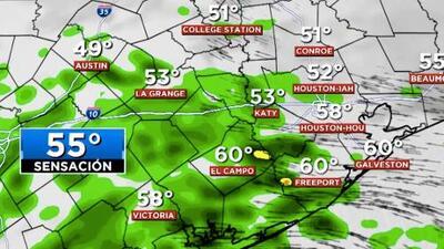 Cielos nublados y presencia de lluvias: así luce el pronóstico para este jueves en Houston