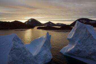 Groenlandia se 'derrite' por culpa de un inusualmente caluroso verano ártico (En fotos)