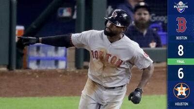 ¡Al filo de la butaca! Boston vence a Houston en el mejor duelo de los Playoffs