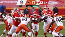 Sin Mahomes, Chiefs echó a Browns y espera a Bills en Final