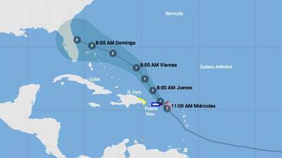 Dorian gana fuerza y se pronostica que llegará a Florida como huracán categoría 3