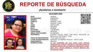 Familia estadounidense desaparece en México cerca de la frontera