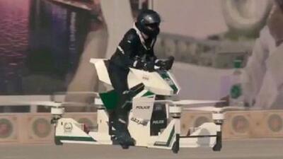 Policía de Dubái le apuesta a los aerodeslizadores para garantizar la seguridad