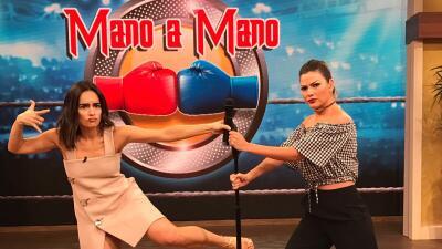 Ana de la Reguera bailó, cantó y presentó su nueva película en Despierta América