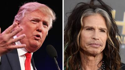 Donald Trump ya no usará tema de Aerosmith para sus asambleas