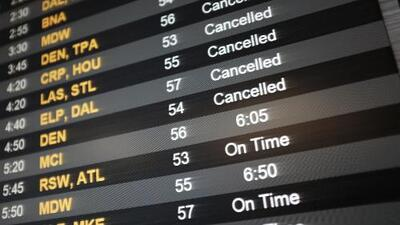 La turbonada provoca retrasos en aeropuertos La Guardia y Newark