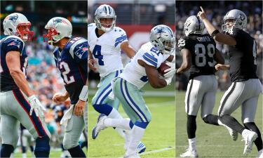 Contendientes al Super Bowl LI | Cowboys, Patriots y Raiders, favoritos