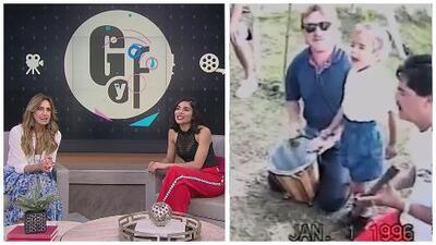Lili Estefan y Alejandra Espinoza se derriten de ternura al ver el video de Karol G cantando de niña