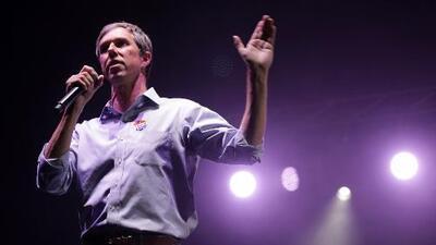 ¿Puso Beto O'Rourke a Texas en una transición de rojo a azul?