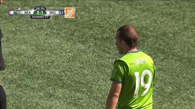 Tiro de esquina para Seattle Sounders FC