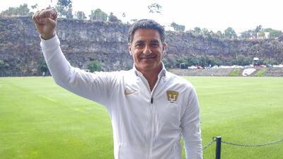 """El nuevo DT de Pumas seguirá confiando en la cantera: """"Hay buena materia prima para el futuro"""""""