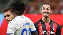 Zlatan y su brutal troleo a Duván Zapata en pleno partido