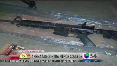 Supuesto autor de amenazas a Pierce College estaba armado