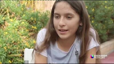 Una hispana de 12 años rompe récord de maratones