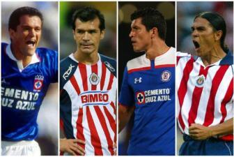Ellos se dividieron entre Chivas y Cruz Azul