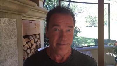 Schwarzenegger le responde a Trump: ¿Por qué no intercambiamos nuestros trabajos?