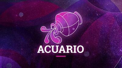 Acuario - Semana 26 de agosto al 1 de septiembre