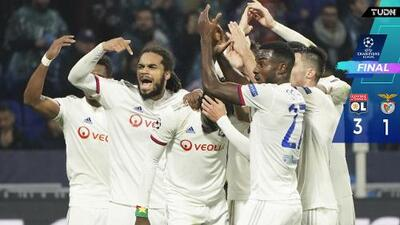 Lyon se desquita del Benfica