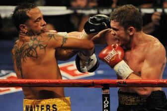 Las victorias de Foreman y Chavez Jr.