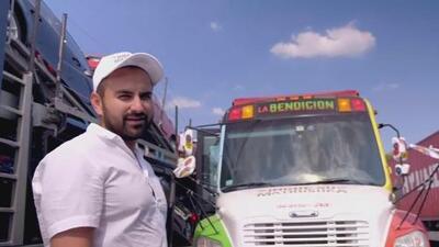 'La Bendición', el autobús escolar que un grupo de amigos adaptó para viajar de México al Mundial en Rusia