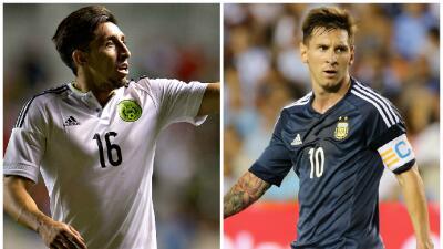 México tendrá una dura prueba ante Argentina