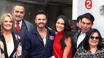 En fotos: José Ron, Eva Cedeño, Erika Buenfil y Jorge Salinas iniciaron las grabaciones de 'Te doy la vida'