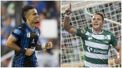 Querétaro vs. Santos: conoce las alineaciones de los equipos