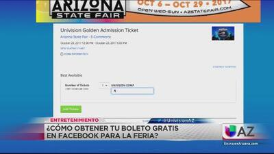 Boletos gratis para la feria estatal de Arizona