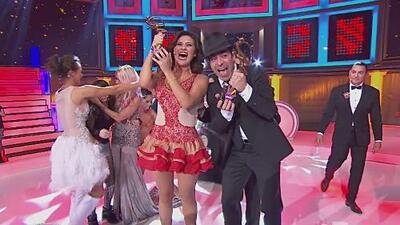 Omar Chaparro y Gomita fueron los ganadores de Bailando Cinco Por Ti