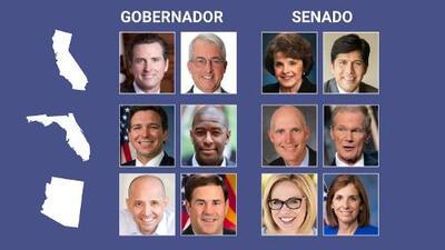 Gran entusiasmo y rechazo a Trump: así dicen que votarán hispanos mayores de 50 años en tres estados clave