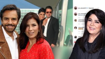 Por esta razón Alessandra Rosaldo, esposa de Eugenio Derbez, manda piropo a Victoria Ruffo