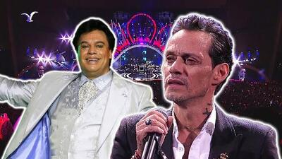 Marc Anthony le rindió un homenaje a Juan Gabriel en el Festival Viña del Mar al cantar uno de sus grandes éxitos