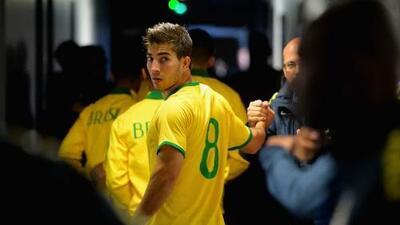 Lucas Silva y Rafinha Alcántara convocados a la olímpica de Brasil para enfrentar a México