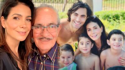Tras la muerte de su padre, Patricia Manterola invita abrazar y besar a nuestros seres queridos