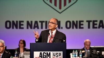 Carlos Cordeiro es el nuevo presidente de la US Soccer