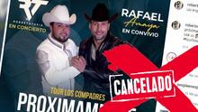 """""""Ya empezamos mal"""": Rafael Amaya y Roberto Tapia cancelan presentación en Texas y se rumora """"fracaso"""""""