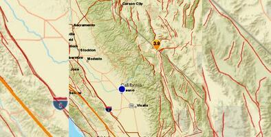 Reportan seguidilla de sismos en el sector montañoso del Valle Central