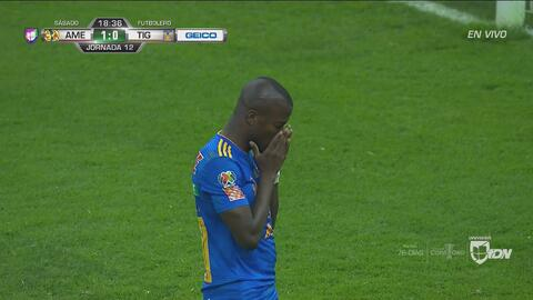 Solo y su alma: Enner se pedió el empate de Tigres